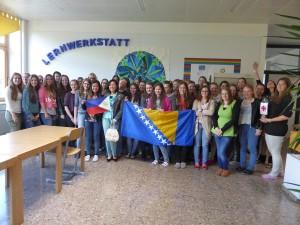 Schülerinnen der HBLW Saalfelden nehmen am ProjectXchange teil.
