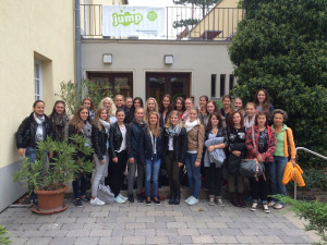 Teilnehmerinnen der HBLW Saalfelden-Schülerinnen an den Green Days