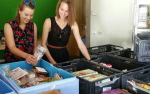 45 ehrenamtliche Mitglieder sammeln Lebensmittel aus 35 verschiedenen Supermärkten und Bäckereien