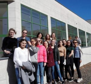 Schülerin aus der 3HLB und 3HLA Saalfelden bei den Greendays 2019