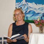 Susanne Huber bei ihrer Lesung im Meixnerhaus Kaprun.