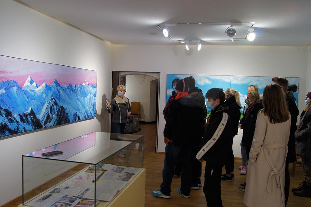 Ausstellung Museum Ritzen - mit Helene Maria Schorn (Berge-Blumen-Akte)